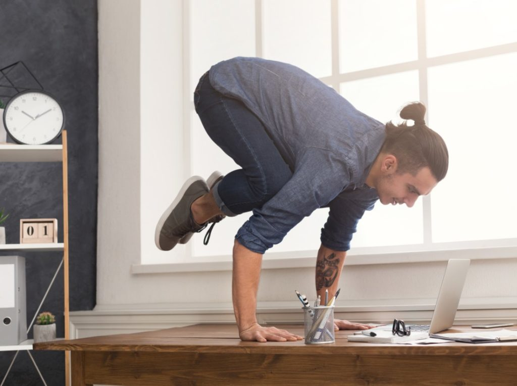 Yoga At Your Desk A Healthy Career